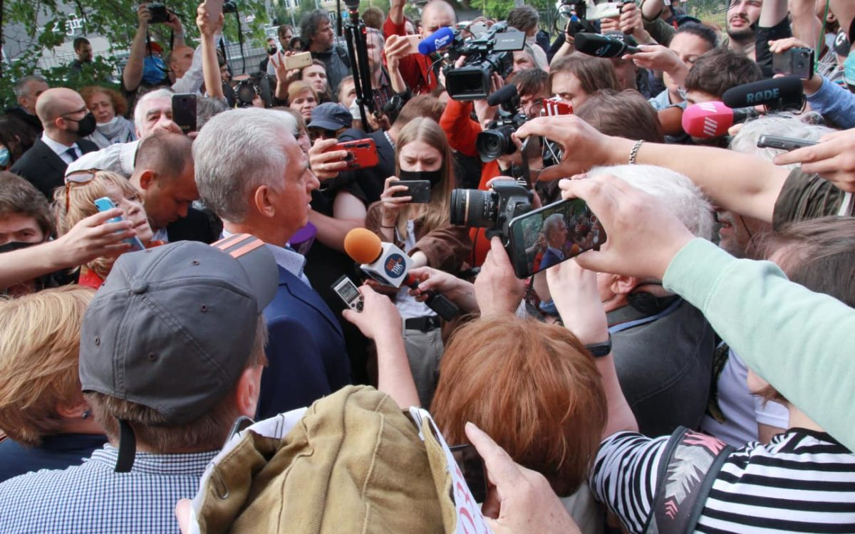 L'examen des appels dans l'affaire Dmitriev fixé au 16 septembre 2020