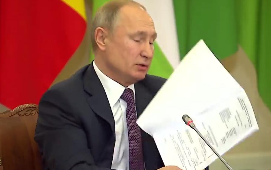 Quand Vladimir Poutine se fait historien