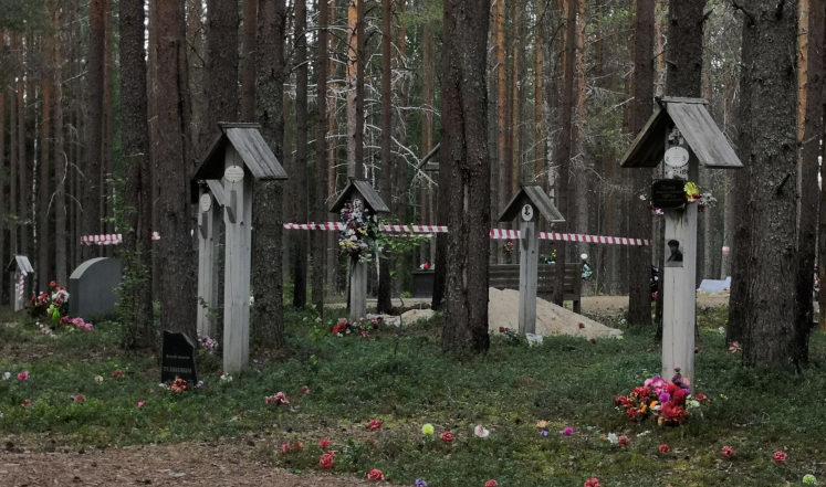 Les traces du crime. Ce que la Société d'Histoire militaire a exhumé à Sandarmokh