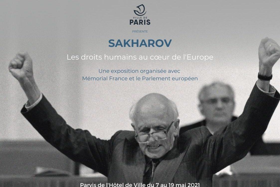 EXPOSITION: SAKHAROV, Les droits humains au cœur de l'Europe